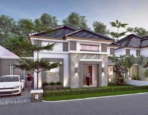 Beli Rumah Mewah di Cluster Sunset View Pekanbaru, Dapat Kolam Pribadi, TV, AC dan Mesin Pompa Air Lho!
