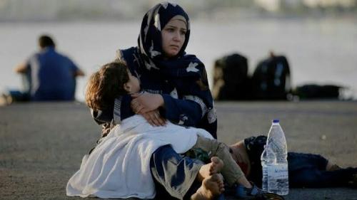 4 Wanita dan 1 Anak Pengungsi Suriah Tenggelam dan Tewas Saat Menyeberang ke Yunani