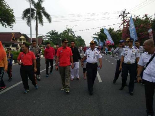 Kasatpol PP Pekanbaru: Alhamdulillah Para Pedagang di CFD Sudah Mulai Tertib