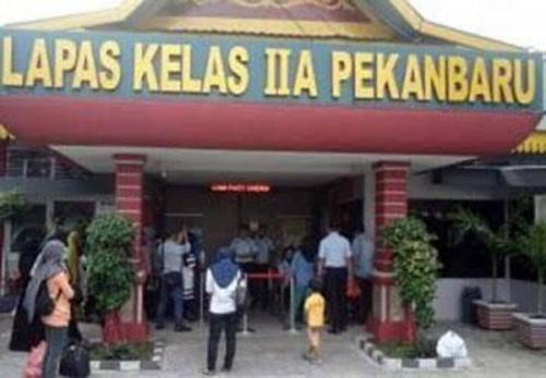 1.599 Napi di Riau Sudah Dibebaskan, Mereka Wajib Lapor Pakai Video Call