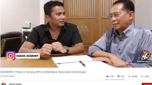 Prabowo Klaim Peroleh Suara 62 Persen, Profesor Ini Tegaskan Data yang Dipasoknya Valid