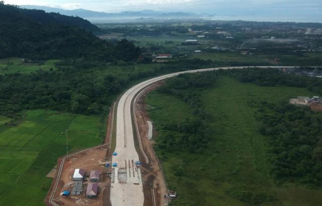 Konstruksi Tol Ruas Padang - Sicincin Baru Selesai 40 Persen
