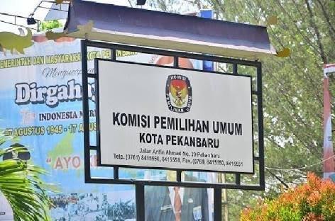 KPU Pekanbaru : Yang Tak Terdaftar di Pemilu Lalu, Silahkan Lapor..