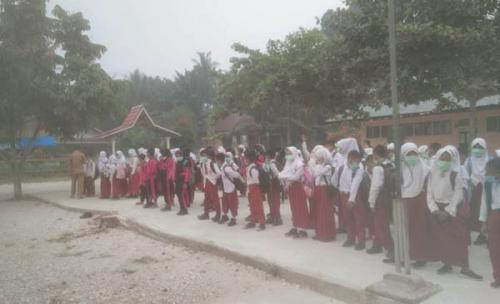 Akibat Asap, Sekolah di Kampar Diliburkan Hingga 13 September 2019