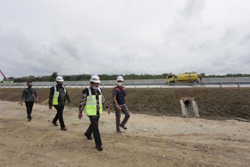 Penlok Telah Diputuskan, Sekdaprov Riau Tinjau Tol Pekanbaru-Bangkinang-Pangkalan