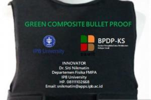 Wah Hebat, Dosen IPB University Ciptakan Baju Antipeluru dari Limbah Sawit