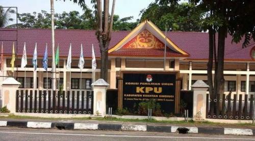 Sulitnya Masyarakat Mengakses Website KPU Kuansing