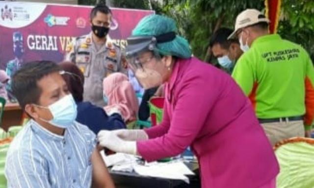 Polres Inhil Perluas Vaksinasi Covid-19, Digelar Serentak Tiga Polsek