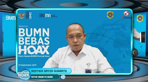 Komitmen Kementerian BUMN & Forum Humas BUMN Jadi Ujung Tombak Atasi Hoax