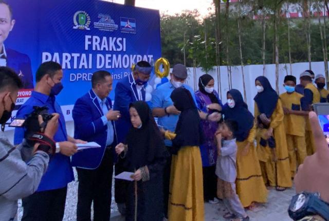 Dua Dekade Partai Demokrat, Fraksi Demokrat DPRD Riau Gelar Syukuran, Undang Anak Yatim di Mabest Kopi