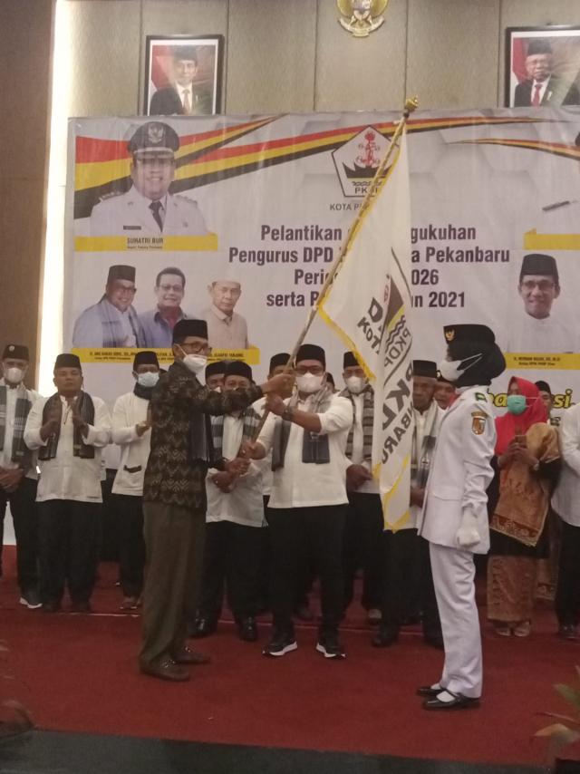 Resmi Dilantik, Abu Bakar Sidik Jadi Ketua DPD PKDP Kota Pekanbaru Periode 2021-2026