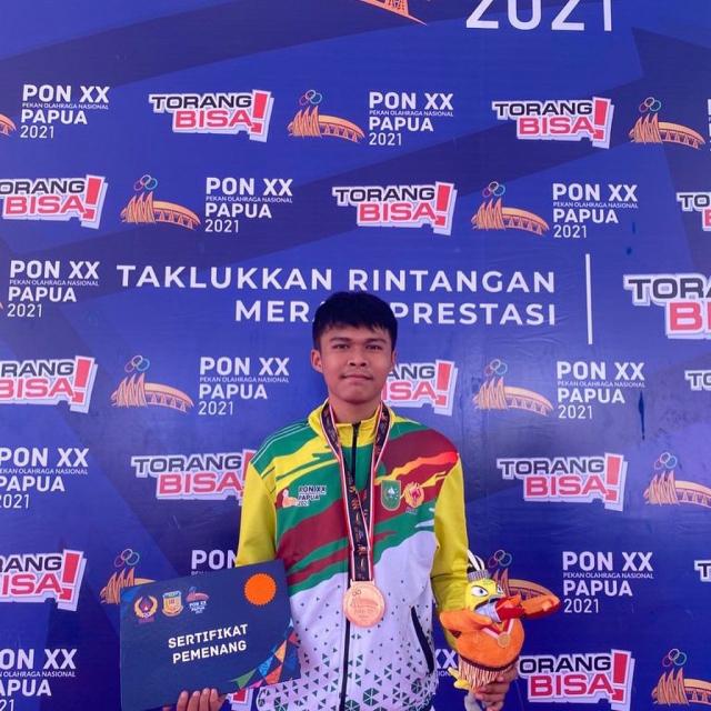 Mahasiswa Unilak Raih Medali di PON XX Papua