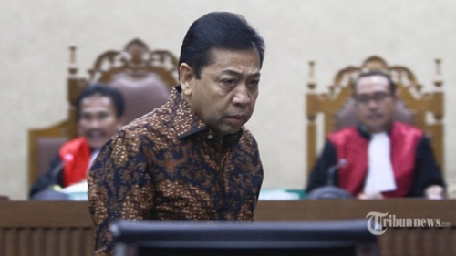 KPK Umumkan Setya Novanto Kembali Jadi Tersangka Korupsi E-KTP
