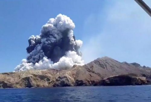Akibat Letusan Gunung Api di Pulau Putih, 5 Dipastikan Tewas, 8 Orang Belum Ditemukan