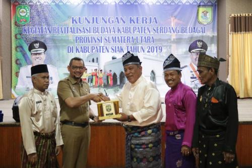 Jadi Tolak Ukur Pelestarian Budaya, Tim Revitalisasi Budaya Kabupaten Serdang Bedagai Kunker ke Siak