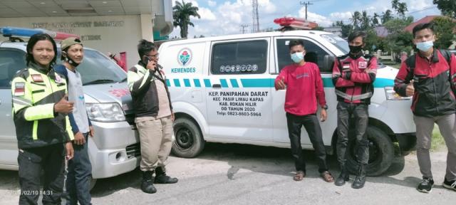 Dulu Orang Sakit di Panipahan Darat Ditandu, Sekarang Sudah Bisa Dibawa Pakai Ambulans