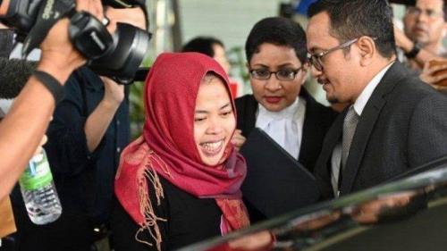Hakim Bebaskan Siti Aisyah dari Dakwaan Membunuh Kim Jong Nam