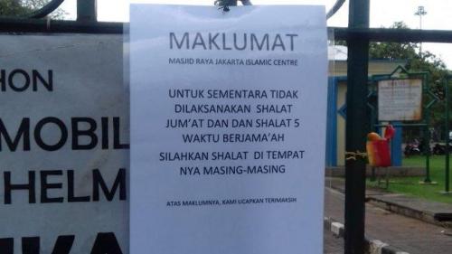 Masjid di Salah Satu Asrama Polri di Jakarta Masih Gelar Shalat Jumat