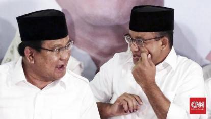 Survey Capres: Prabowo Kalah dari Anies, AHY, Sandiaga, dan Ridwan Kamil, Moeldoko dan Mahfud MD Nol Persen