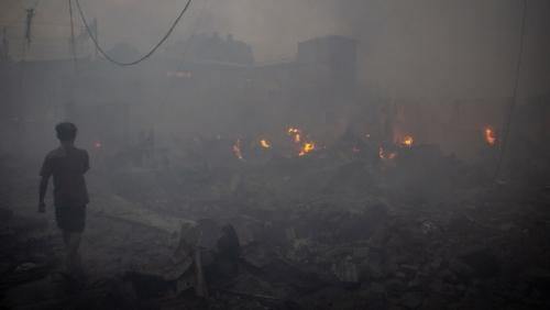 450 Rumah Terbakar di Kampung Bandan