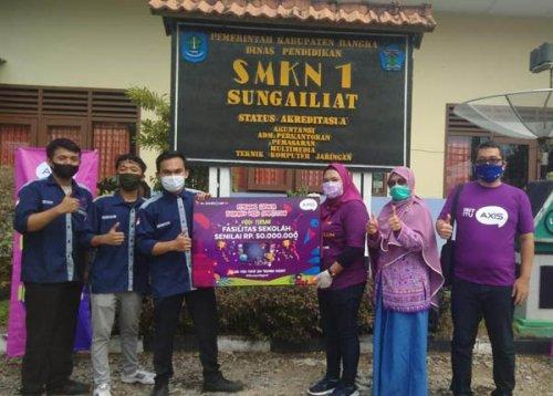 Kompetisi Video AXIS Serunya Budayaku, SMK Asal Bangka Menangi Hadiah Rp 50 Juta