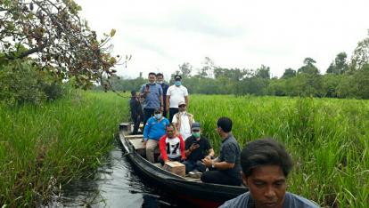 Gandeng 6 Perusahaan Benahi Sungai Kerumutan Pelalawan, Wabup Nasarudin: Normalisasi Harus Siap Tahun Ini