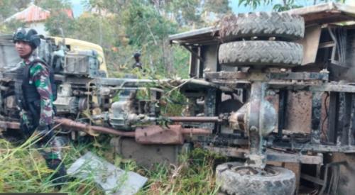 Truk Angkut 17 Anggota TNI Jatuh ke Jurang di Papua, 2 Prajurit Tewas