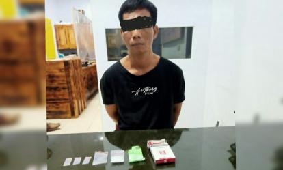 Panik, Pria di Pelalawan Buang Sabu saat Ditangkap Polisi di Wisma CNO