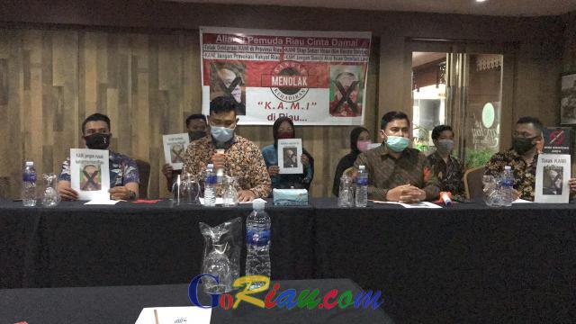 Berpotensi Memecah belah, Aliansi Pemuda Cinta Damai Tolak Kehadiran KAMI di Riau