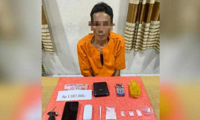 Polisi Ungkap Kasus Narkoba di Tembilahan Hulu, Sita Sabu dan Ganja