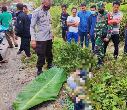 Polisi Pastikan Pria yang Ditemukan Tewas Dalam Kondisi Terikat di Kampar Adalah Korban Pembunuhan
