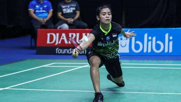 Gregoria Bawa Indonesia Unggul 1-0