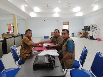 Ahmad Jais Daftar Jadi Calon Kades Desa Baru, Ajak Masyarakat Sukseskan Pilkades