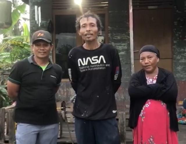 Puluhan Tahun Tinggal di Rumah Lapuk, Warga Meranti Pandak Dapat Bantuan RLH, Suripno: Terimakasih Pak Parisman