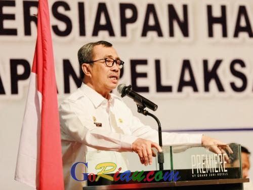 Gubernur Syamsuar Instruksikan Bupati dan Walikota di Riau Inventaris Produk UMKM untuk Dijual dan Dipasarkan PT Sarinah