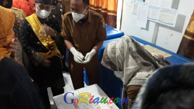 Gelombang Pertama Vaksinasi Covid-19 di Pelalawan, 780 Nakes Akan Divaksin