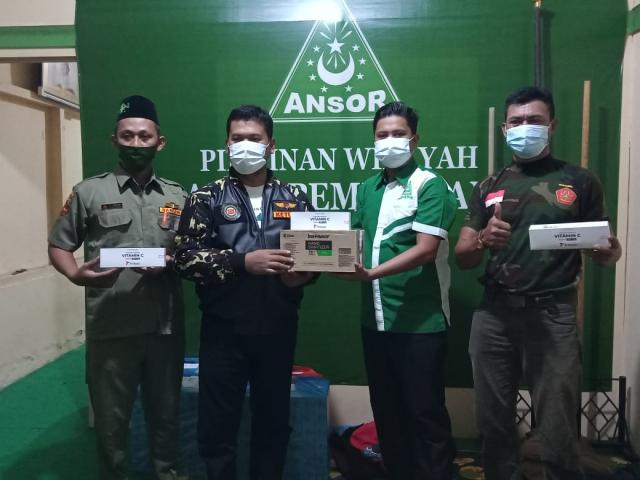 Cegah Covid-19, GP Ansor Riau Salurkan Bantuan Presiden Jokowi ke Pesantren se-Pekanbaru, Tidak Hanya Pesantren NU