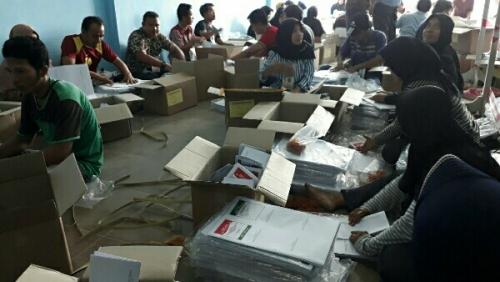 Besok, KPU Pelalawan Distribusikan Logistik Pemilu, Kuala Kampar dan Teluk Meranti Didahulukan
