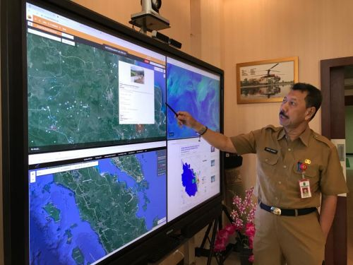 Dibanding 2019, Karhutla di Riau Tahun Ini Turun 63 Persen