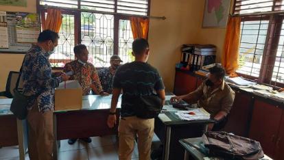 Pungli Pengurusan Surat Tanah, Oknum Honorer di Desa Perawang Barat Ditangkap Polres Siak