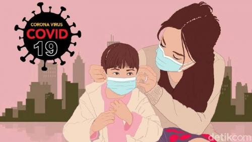 34 Anak dan 1 Bayi di Riau Terpapar Covid-19 Dalam Sehari