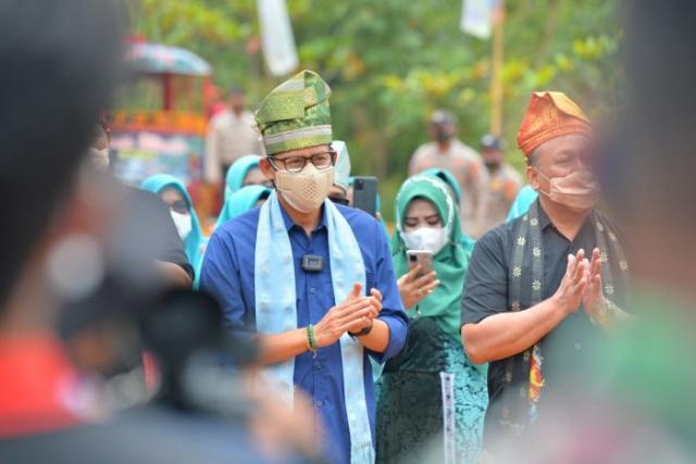 Menparekraf Sandiaga Uno: Jika Kangen Raja Ampat ke Riau Aja