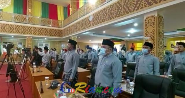 Paripurna HUT ke-21 Kabupaten Pelalawan Terapkan Protokol Kesehatan Ketat