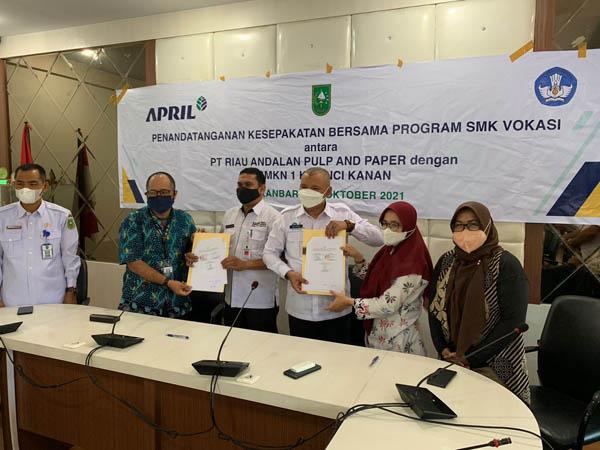 Program SMK Vokasi RAPP Dorong Peningkatan SDM