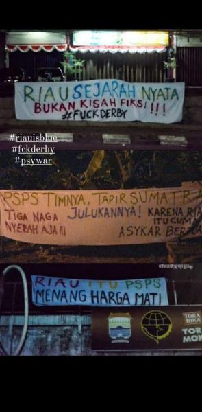 Jelang Derby Riau, Curva Nord 1955 Yakin PSPS Menang