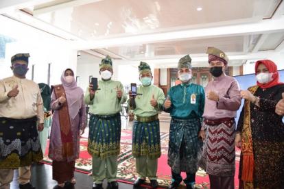 Unggah Dulu Aplikasinya, Bayar Tiket Masuk Istana Siak Kini Pakai QRIS Bank Riau Kepri