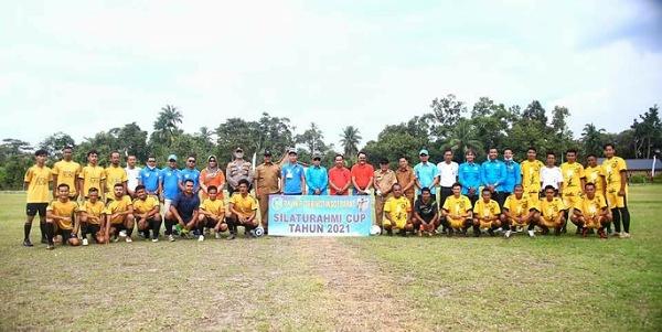 Buka Turnamen Sepak Bola di Mekong, Ini Pesan Wabup Asmar
