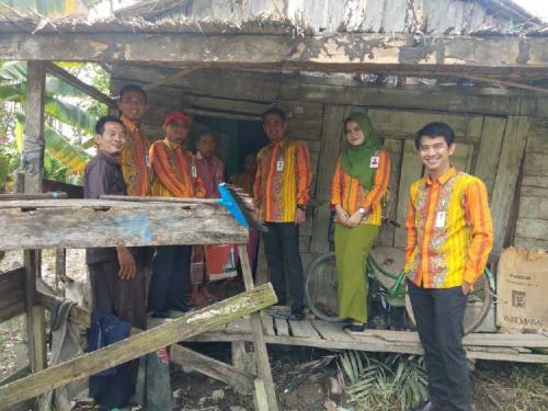 Bank Riau Kepri Capem Kotabaru Bantu Warga Kurang Mampu