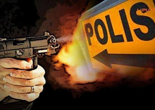 Sadis, Oknum Polisi Tembak Seorang Wanita di Pintu Grand Dragon Pekanbaru