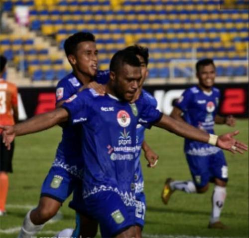 Kalahkan Persiraja Banda Aceh dengan skor tipis 1-0 di Stadion Kaharuddin Nasution Rumbai, PSPS Riau Koleksi 10 Poin